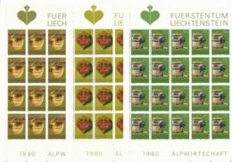 Zumstein 685-687 / Michel 747-749 Bogen-Serie Einwandfrei Postfrisch/** - Blocks & Kleinbögen