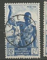 AEF N° 222 CACHET  ABECHE - A.E.F. (1936-1958)