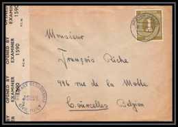 6034 Lettre Allemagne Germany Guerre 1914/1918 Censuré 1946 - Poststempel (Briefe)