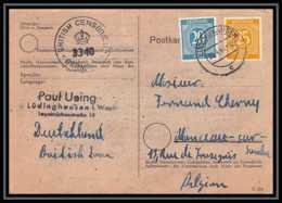 6035 Lettre Allemagne Germany Guerre 1914/1918 Censuré 1947 - Poststempel (Briefe)