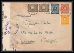 6041 Lettre Allemagne Germany Guerre 1914/1918 Censuré 1947 - Poststempel (Briefe)