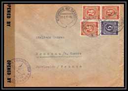 6043 Lettre Allemagne Germany Guerre 1914/1918 Censuré 1947 - Poststempel (Briefe)