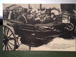 SEDAN-FLOING Journée Du 1° Sept 1910-Le Cortège Officiel... - Sedan