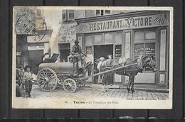 83  TOULON LE TORPILLEUR DES RUES - Toulon