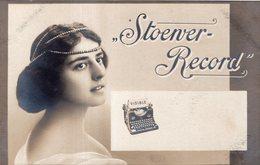 """PUBLICITE ANGLAISE POUR MACHINE A ECRIRE """" STOENVER - RECORD"""" - Publicidad"""