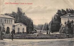 BAD OEYNHAUSEN GERMANY~PARTIE Im KURPARK~1907 FRITZ SCHERER PHOTO POSTCARD 42974 - Bad Oeynhausen