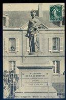 Cpa Du 29 Le Faou Statue De L' Agriculture    DEC19-18 - Châteauneuf-du-Faou