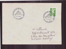 Enveloppe Du 12 Décembre 1992 De Longjumeau Pour Massy Cachet Commémoratif Bicentenaire De La République - France