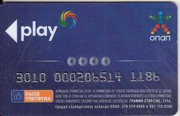 GREECE - OPAP Play, Member Card, Used - Tarjetas De Casino
