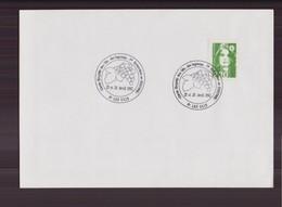 "Enveloppe Du 25 Avril 1992 Cachet "" Cercle Oenophile Des Ulis "" - France"