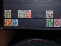 Suisse Nombres -helvetia 1905-1907 - Used Stamps