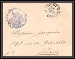 6762/ Discount Promo Lettre France Guerre 1914/1918 à étudier - Poststempel (Briefe)