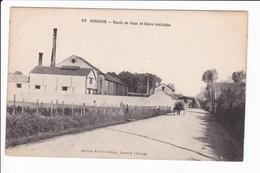63 - AUXERRE - Route De Vaux Et Usine Lechiche - Auxerre