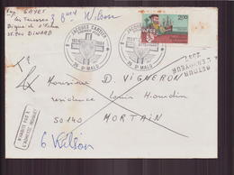 """Enveloppe Du 27 Avril 1994 Pour Mortain Cachet """" Jacques Cartier """" - France"""