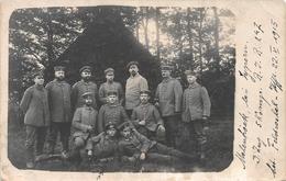 Fotokaart Militairen Molenhoek 1915 - Ieper - Ieper