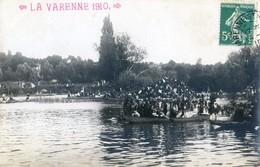 94 - Carte Photo - La Varenne 1910 - Fête Nautique - Otros Municipios
