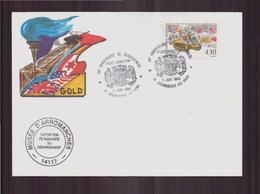 """Enveloppe Du 6 Juin 1994 Cachet """" Musée D'Arromanches """" - France"""
