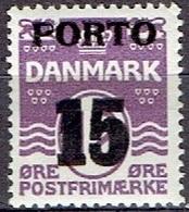 DENMARK # FROM 1934 MICHEL P32** - Portomarken