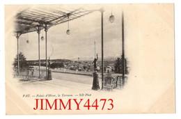CPA - PAU - Palais D'Hiver, La Terrasse ( Vieille Carte 1900 / 1901 ) 64 Pyrénées Atlantiques - ND Phot. - Pau