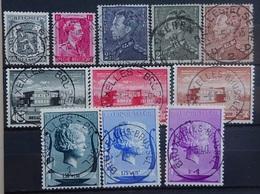 BELGIE  1940   Nr. 527 - 31 /  532 - 37        Gestempeld   CW  16,50 - Belgium