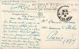 HÔPITAL AUXILLIAIRE N 8 NICE CIMIEZ - Guerre De 1914-18