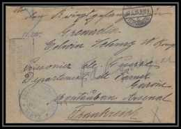 Lettre 1 2991 Prisonniers De Guerre Kriegsgefangenen War 1914/1918 Censuré Lothringen Metz P Montauban 1915 - Postmark Collection (Covers)