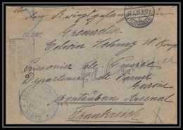 Lettre 1 2991 Prisonniers De Guerre Kriegsgefangenen War 1914/1918 Censuré Lothringen Metz P Montauban 1915 - Oorlog 1914-18