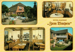 """Ladbergen Krs. Steinfurt """" Hotel Gasthof Zum Timpen """" 4-geteilte Privatkarte CeKaDe - Steinfurt"""