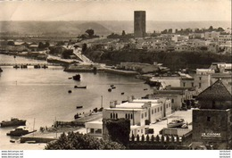 MAROC  RABAT  La Tour Hassari Et Le Bou Regreg - Rabat