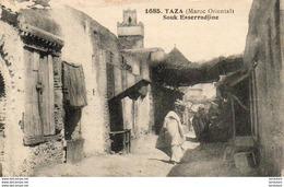 MAROC  TAZA  Souk Esserradjine - Maroc
