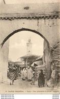 MAROC  TAZA  Rue Principale Et Grande Mosquée - Maroc