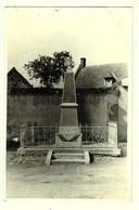 Dt 80 SAINT AUBIN MONTENOY  Le Monument ,carte Photo - Francia