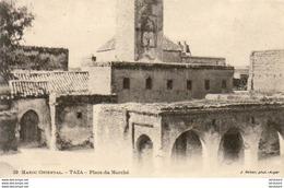 MAROC  TAZA  Place Du Marché - Maroc