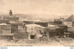 MAROC  TAZA  Vue Partielle - Maroc