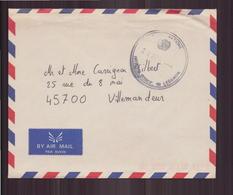 Enveloppe Du 20 Avril 1992 ??pour Villemandeur Cachet Nations Unies - France