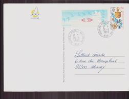 """Carte Du 26 Août 1993 Pour Massy Cachet """" Bureau Postal Militaire """" - France"""