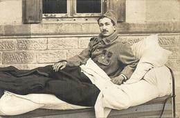 BLESSE MILITAIR DU 312 EM. DECORATIONS - Guerre 1914-18