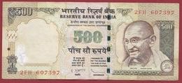 Inde 500 Rupees 2012 Dans L 'état (3) - India