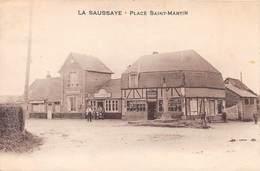LA SAUSSAYE - Place Saint-Martin - France