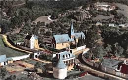 ROMILLY SUR ANDELLE - L'Eglise Et Le Presbytère - Vue Aérienne (CPSM Petit Format) - France