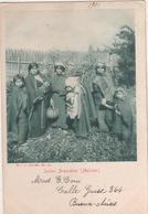 Ethnie-belle Cpa 1901 Voyagee INDIAS ARAUCANAS (mulchen)argentine- - Argentina
