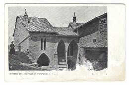 2202 - INTERNO DEL CASTELLO DI POMPEANO SERRAMAZZONI MODENA 1920 CIRCA - Modena