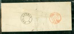 UIT 1868 * BRIEFOMSLAG Uit UTRECHT Via OUDEWATER Naar De SCHOUT Te BENSCHOP  (11.737) - Briefe U. Dokumente