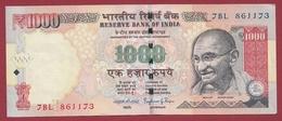 Inde 1000 Rupees 2014 Dans L 'état (15) - India