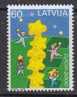 Europa Cept 2000 Latvia 1v ** Mnh (45699) - 2000
