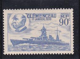 """N° 425 FRANCE De 1939 """" Clemenceau """" - Cuirassier - Neuf Sans Aucune Trace - A Voir - Ungebraucht"""