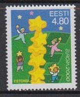 Europa Cept  2000 Estonia  1v ** Mnh (45700A) - 2000