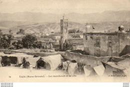 MAROC  TAZA  Les Marchands De La Ville - Maroc