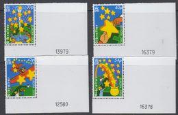 Europa Cept 2000 Gibraltar 4v (corner, Sheet Number) ** Mnh (45701A) - 2000