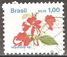 Brésil - 1989 - Fleur - YT 1924 Oblitéré - Gebruikt